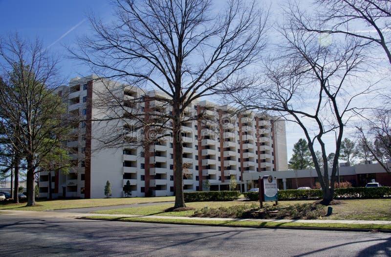 John Madison Exum Towers Midtown Memphis, TN fotografía de archivo