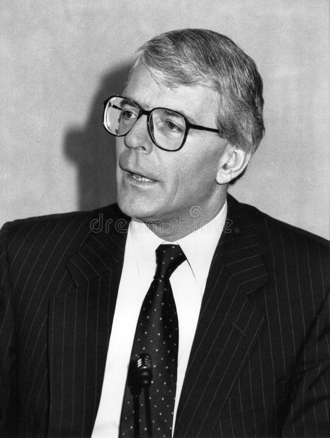 John Major lizenzfreies stockfoto