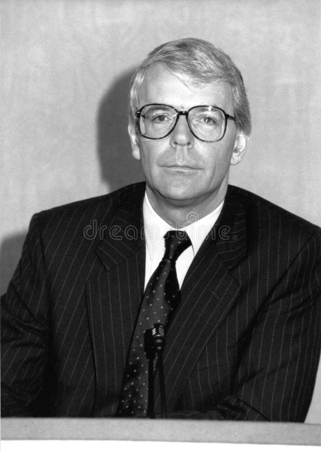 John Major lizenzfreies stockbild