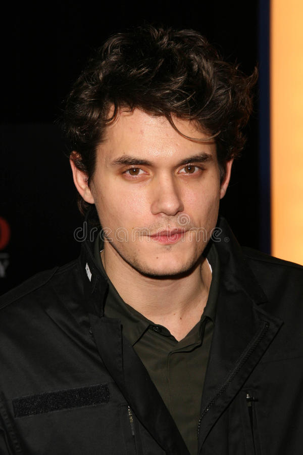 John Mayer foto de stock royalty free