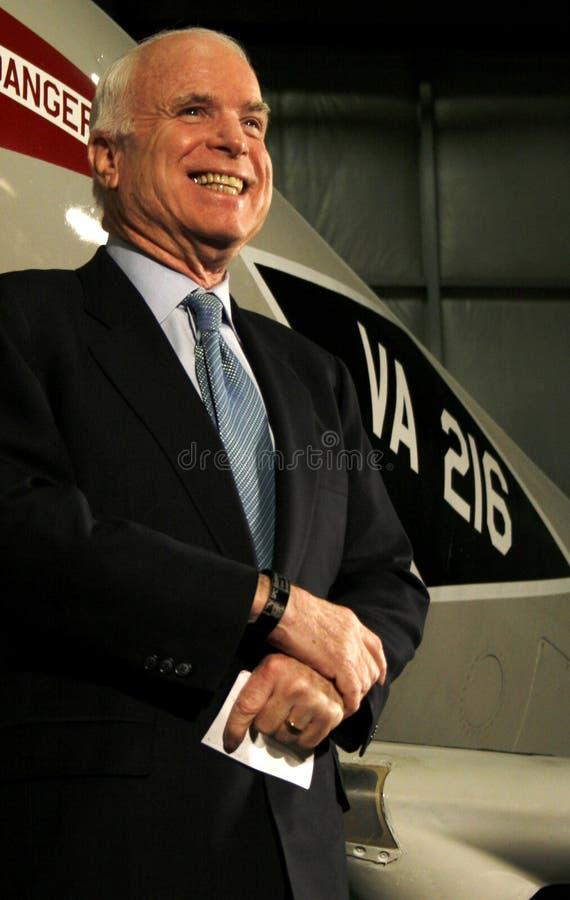 John McCain royalty free stock photography