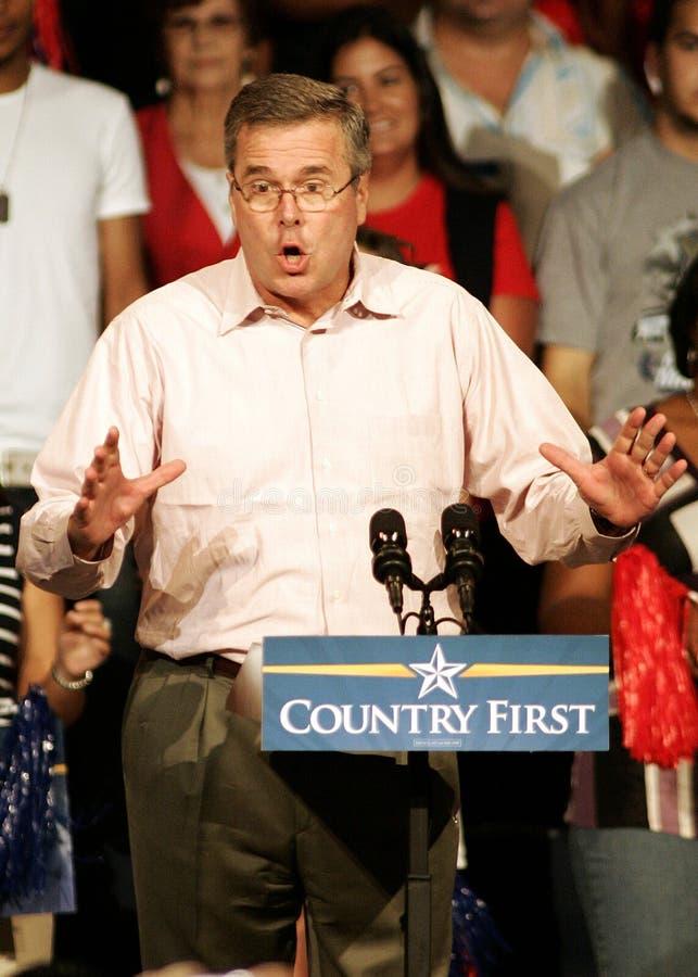 John McCain Rally in Florida royalty-vrije stock fotografie