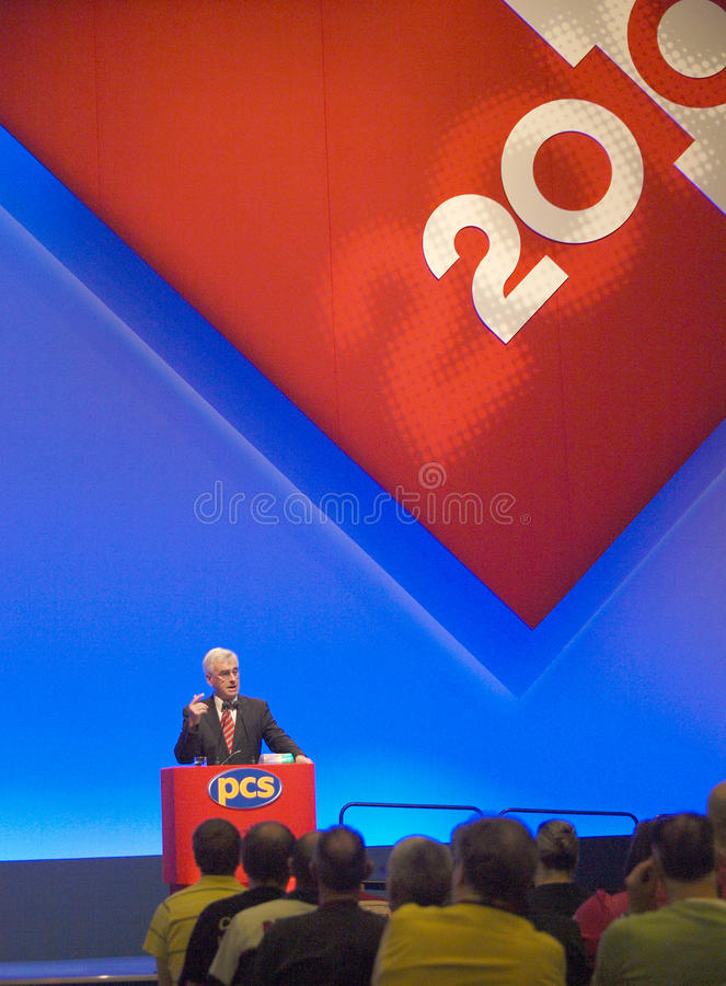 John McDonnell MP (4) royalty-vrije stock afbeelding