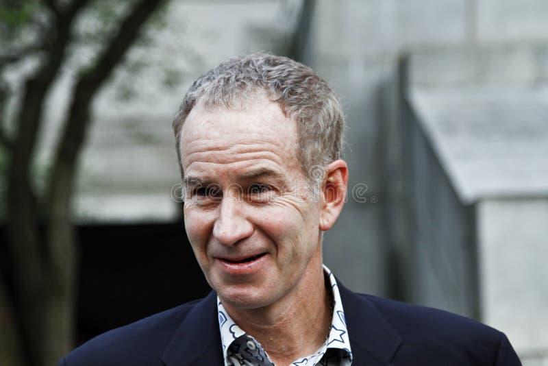 John McEnroe photographie stock libre de droits