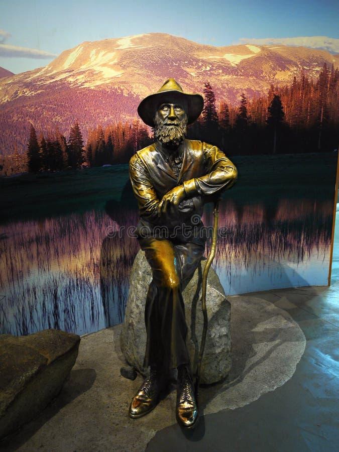 John Muir, conservation de la région sauvage, Etats-Unis photos libres de droits