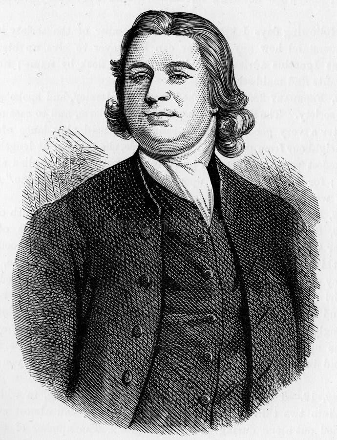 John Nelson, predicador stock de ilustración