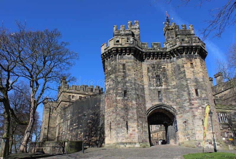 John O'Gaunt Gateway Lancaster Castle Lancashire royalty free stock photography