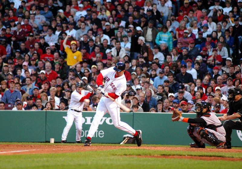 John Olerud Boston Red Sox 1B. Boston Red Sox First Baseman John Olerud stock images