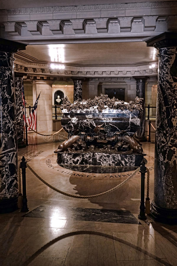 John Paul Jones Crypt at US Naval Academy Chapel stock photos