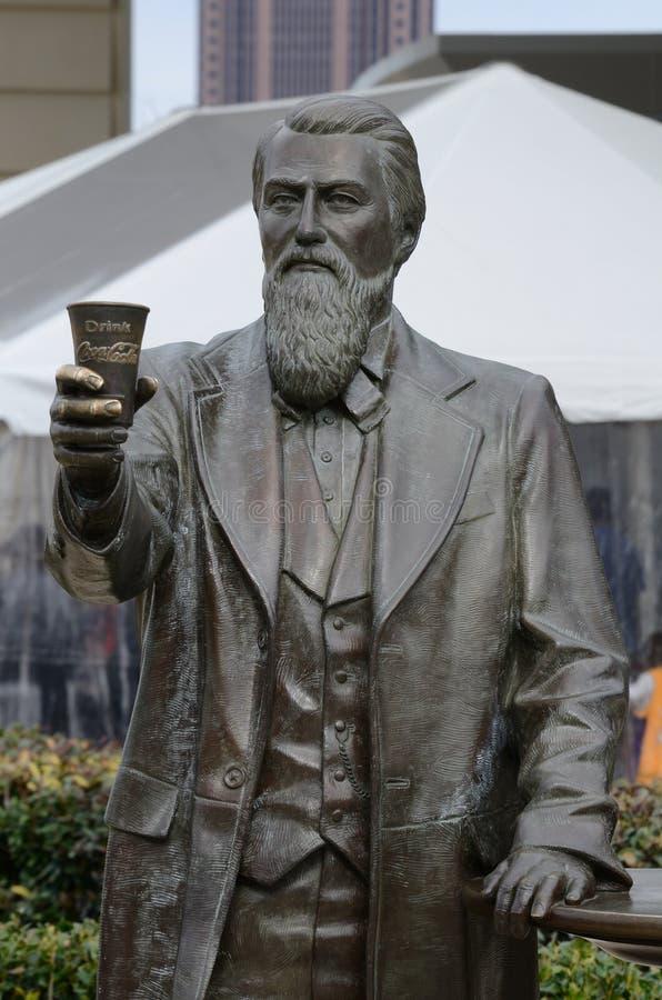 John Pemberton. A statue of John Pemberton, the inventor of Coca-Cola, in Atlanta Georgia