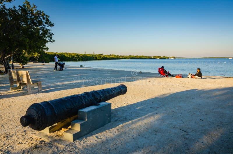 John Pennekamp Coral Reef State parkerar - nyckel- Largo, FL arkivbild