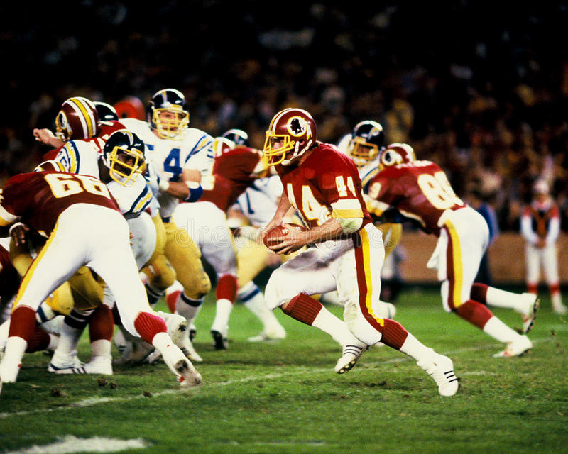 John Riggins Washington Redskins fotografia de stock