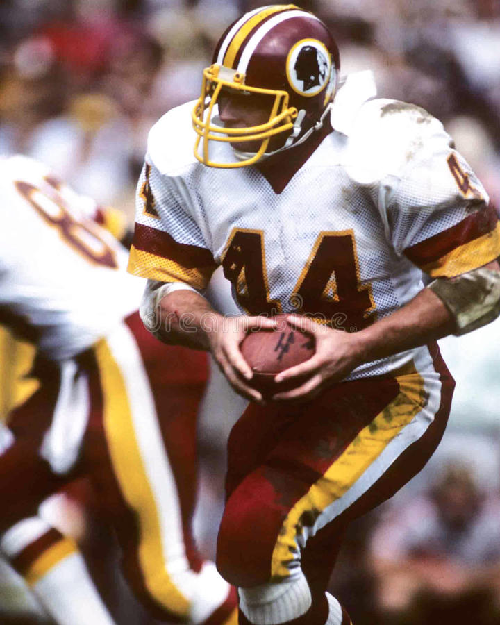 John Riggins Washington Redskins fotografia de stock