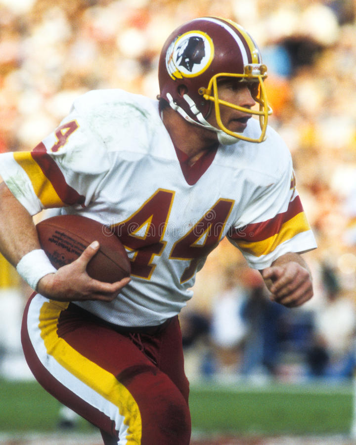 John Riggins Washington Redskins stock image