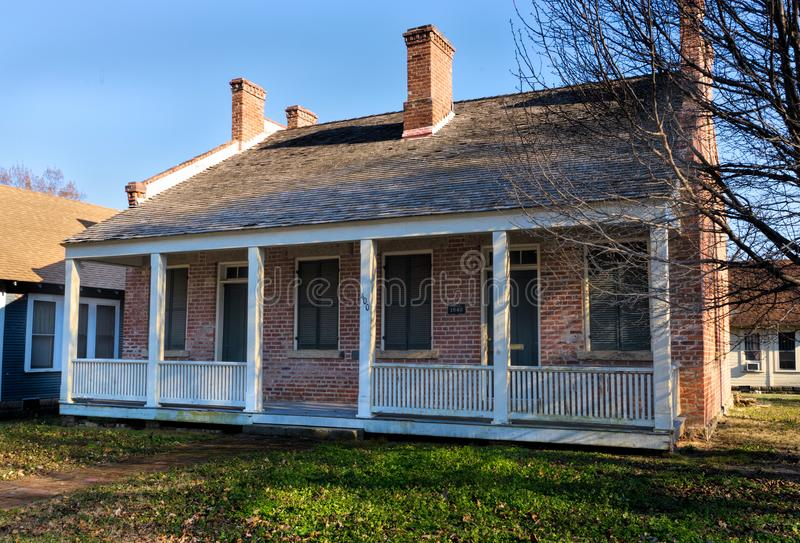 John Rodgers Home in Fort Smith, Arkansas lizenzfreies stockfoto