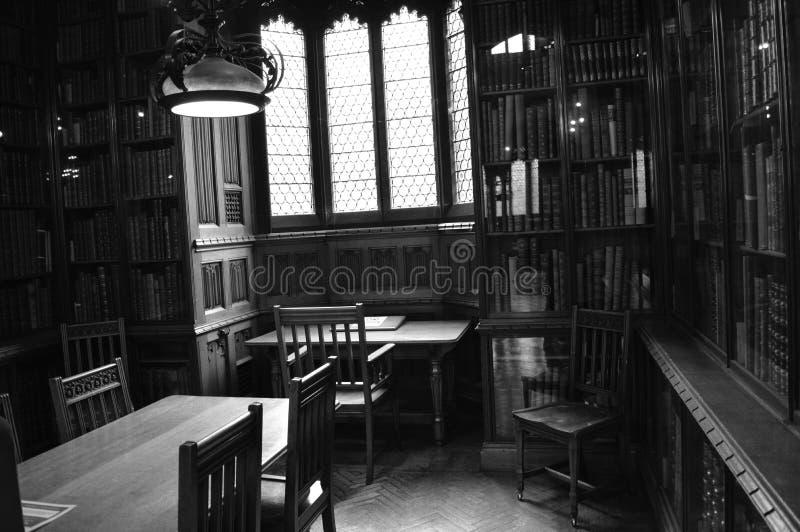 John Rylands Library in Manchester, Engeland royalty-vrije stock afbeeldingen
