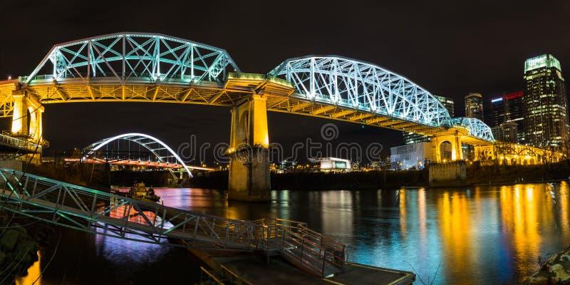 John Seigenthaler Zwyczajny most obrazy royalty free