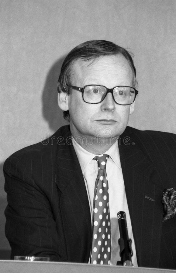John Selwyn Gummer Editorial Stock Photo