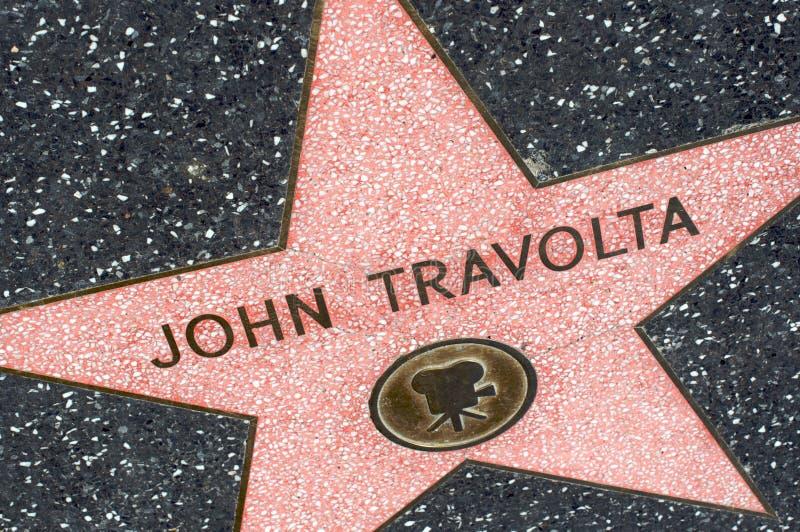 John Travolta fotografia de stock