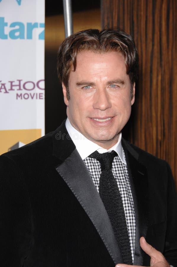 John Travolta royalty-vrije stock afbeelding