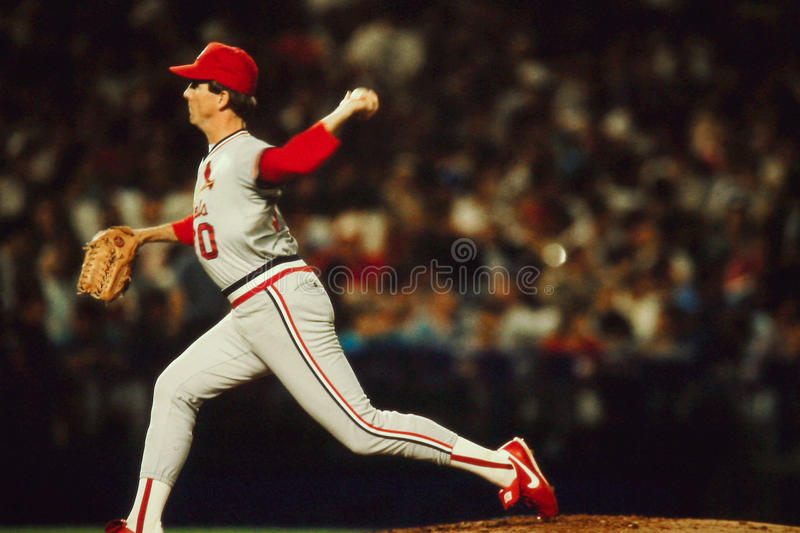 John Tudor St. Louis Cardinals photographie stock libre de droits