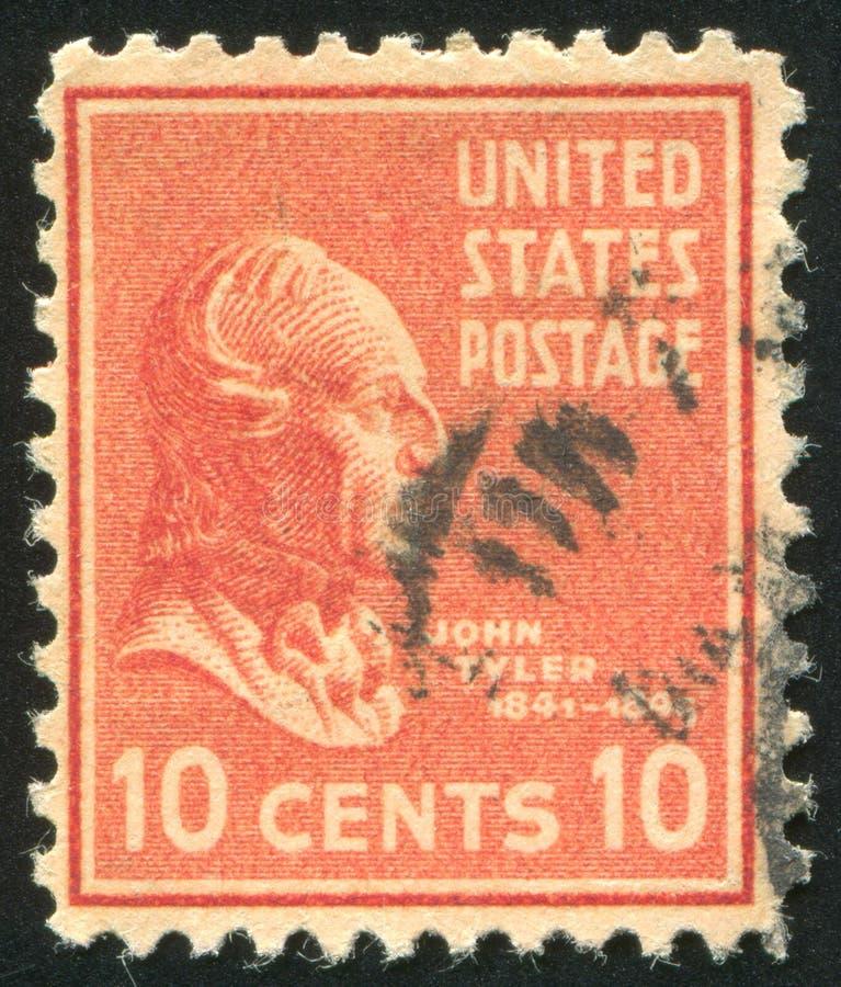 John Tyler стоковая фотография rf