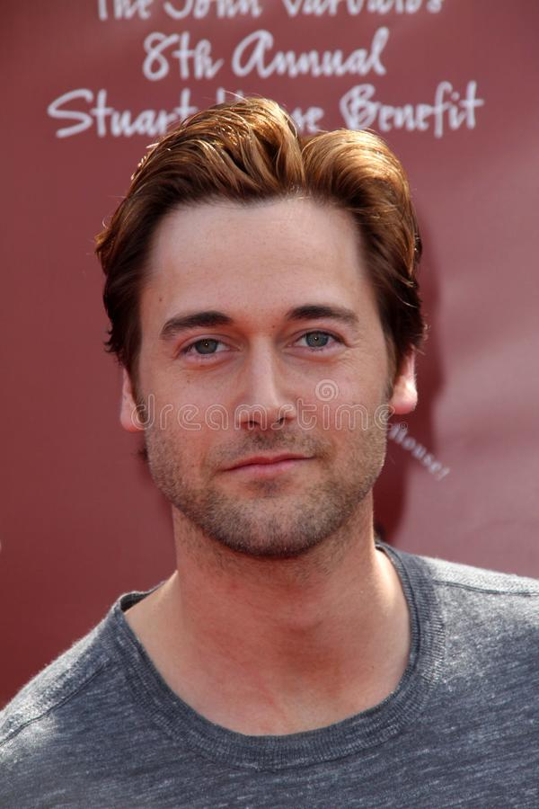 John Varvatos, Ryan Eggold royalty-vrije stock foto's