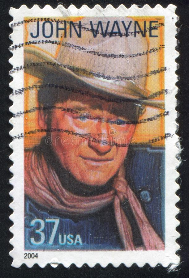 John Wayne foto de stock royalty free