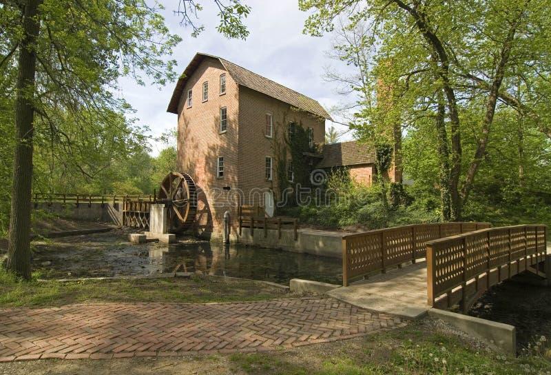 John Wood Grist Mill royalty-vrije stock foto