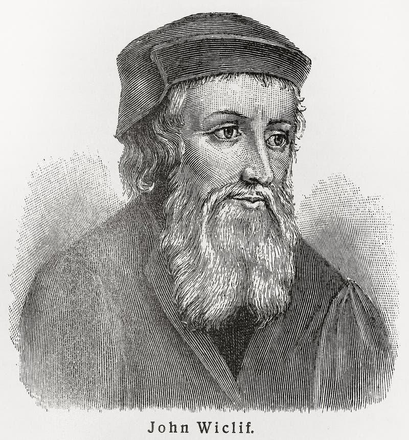 John Wycliffe vektor abbildung