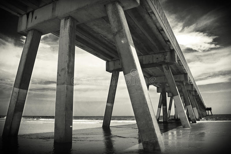 Johnnie Mercer's Pier stock photo