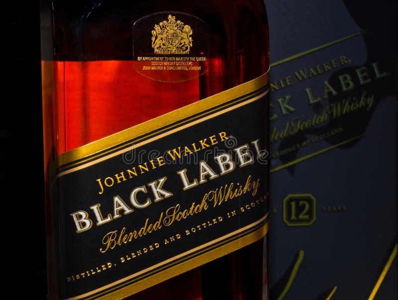 Johnnie Walker royalty free stock photos