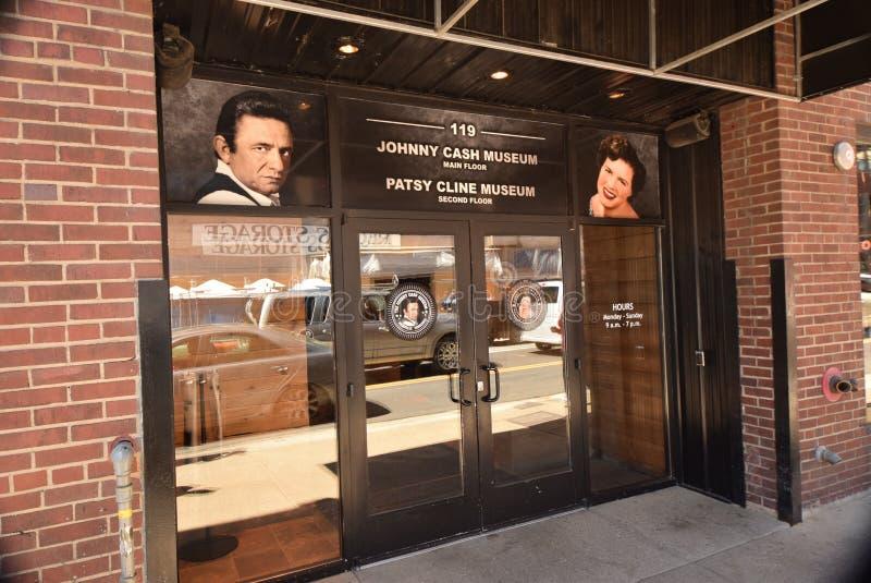 Johnny Cash e Patsy Cline Museum, Nashville Tennessee imagem de stock royalty free