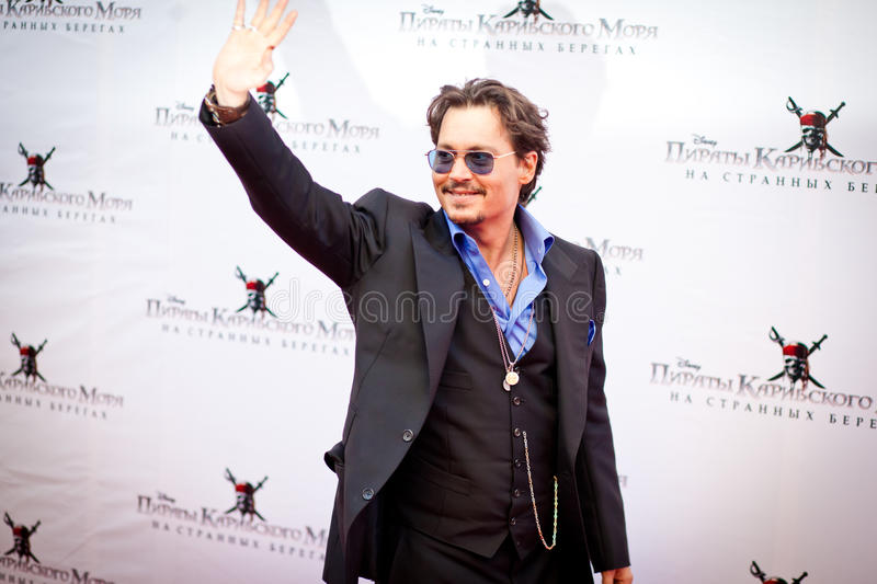 Download Johnny Depp editorial photo. Image of famous, premiere - 19473796