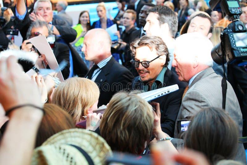 Johnny Depp royalty-vrije stock afbeeldingen