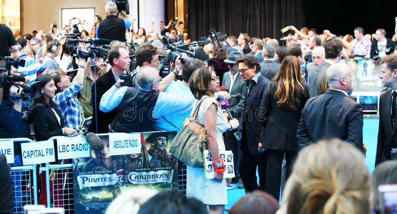 Johnny Depp Editorial Stock Image