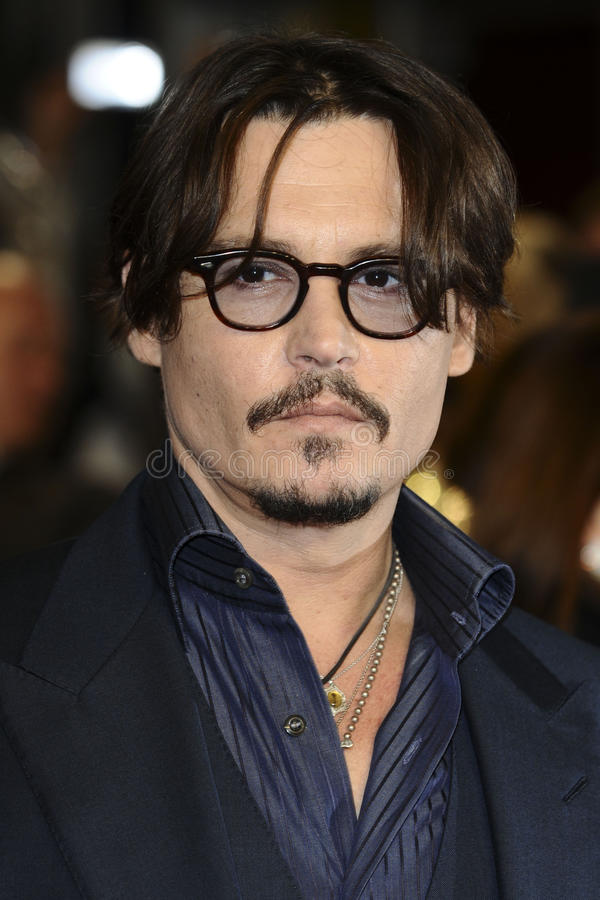 Johnny Depp stock fotografie