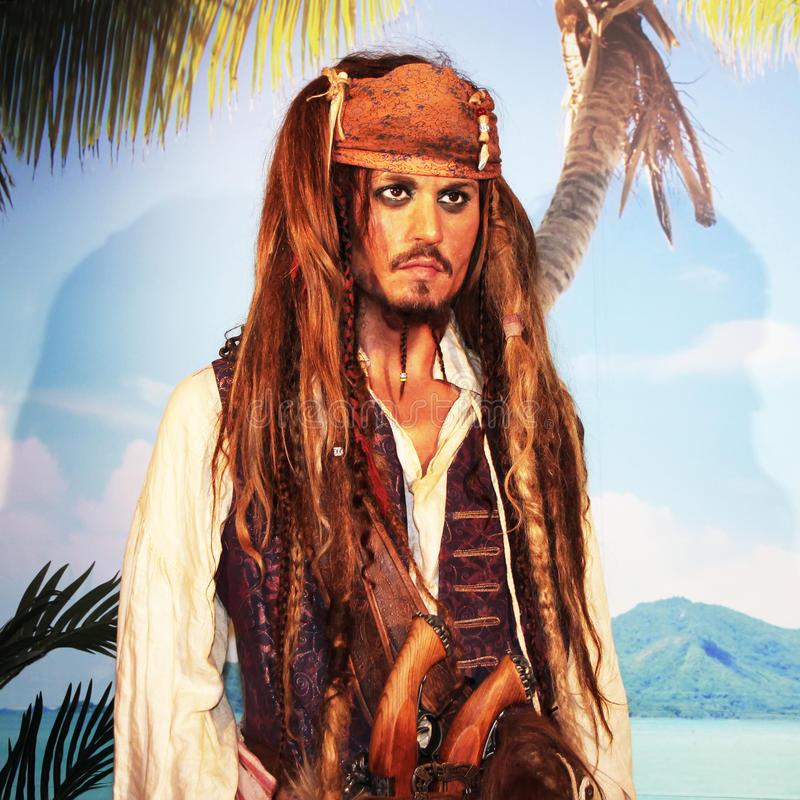 Johnny Depp photos stock