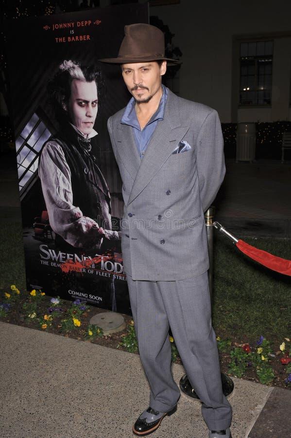 Download Johnny Depp editorial stock image. Image of street, barber - 23945659
