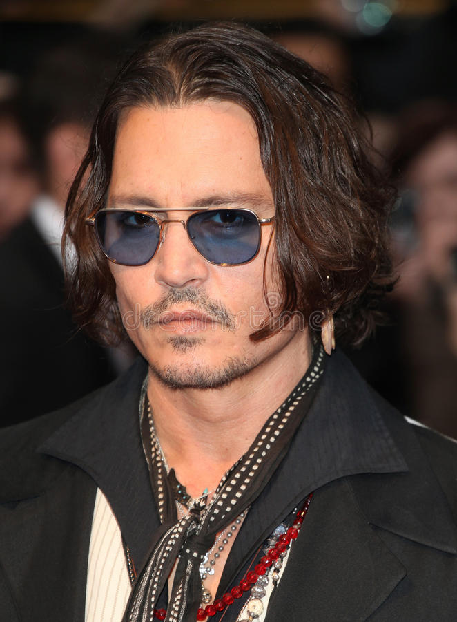 Johnny Depp Editorial Stock Photo