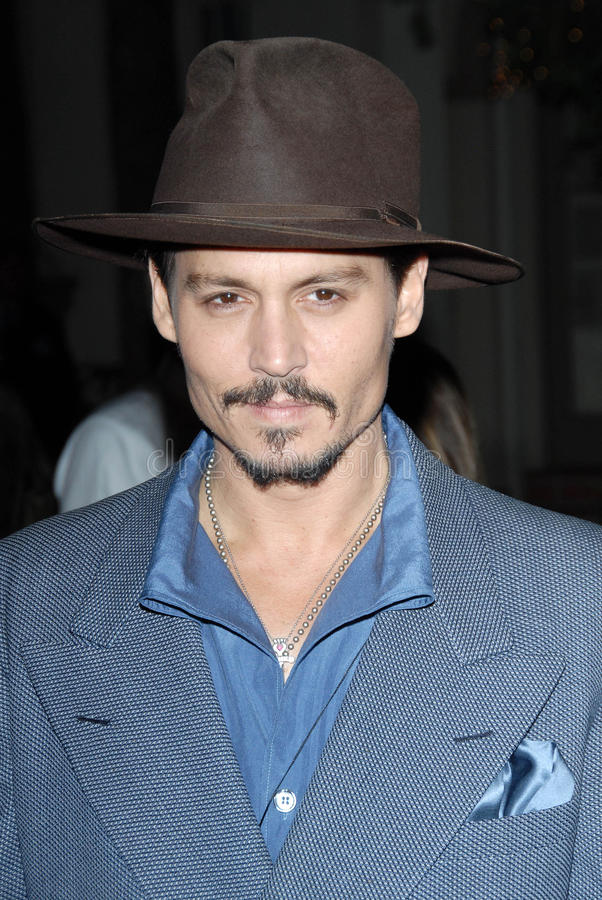 Johnny Depp fotografia de stock royalty free