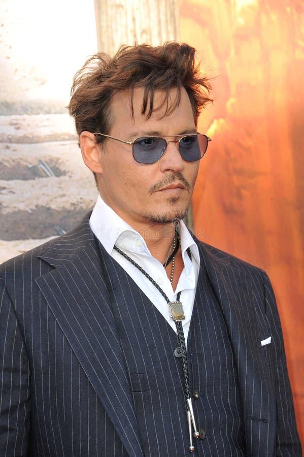 Johnny Depp foto de archivo