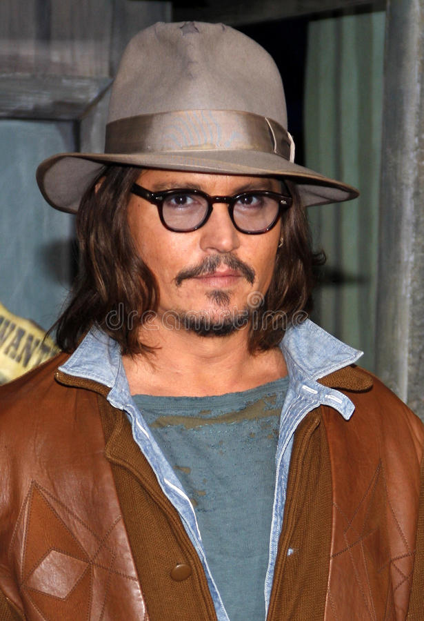 Johnny Depp lizenzfreie stockfotos
