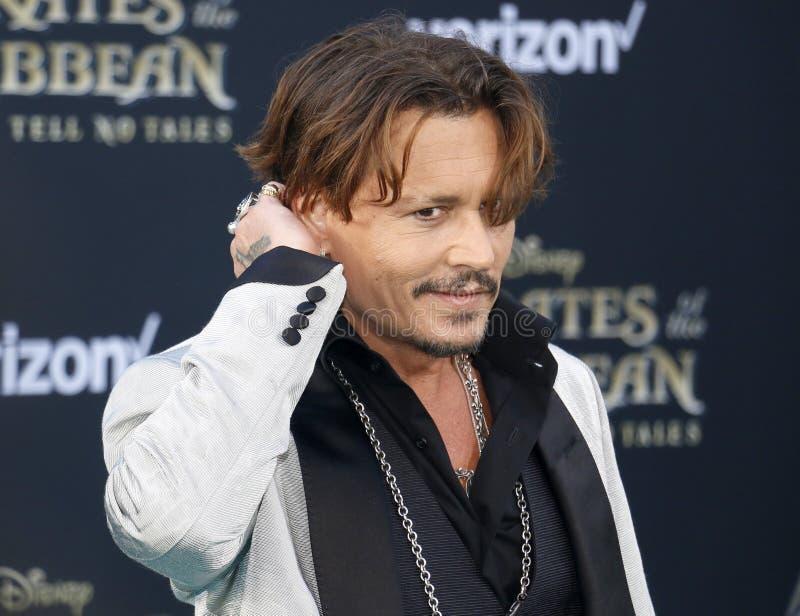 Johnny Depp imagem de stock royalty free