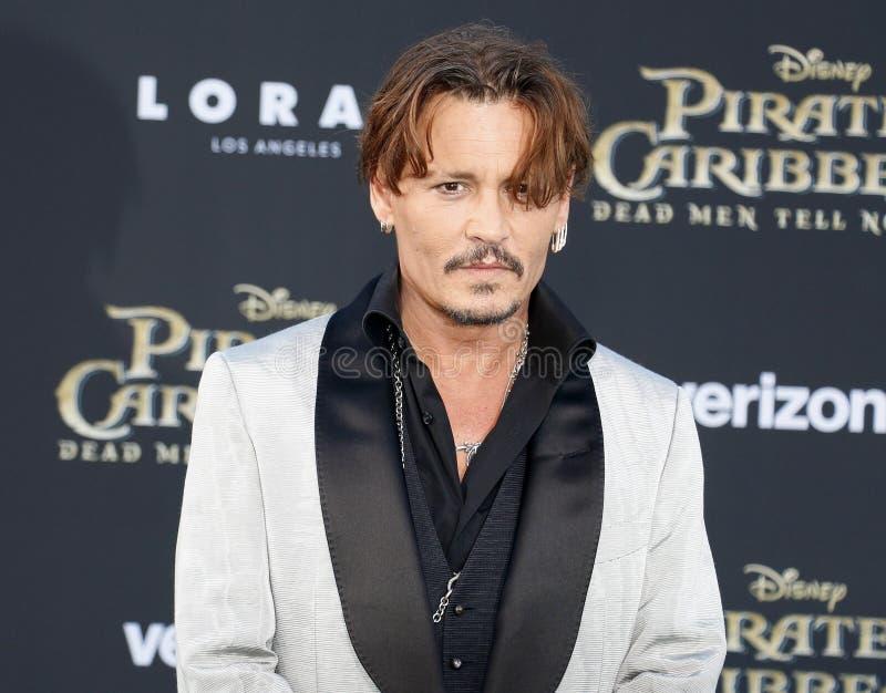 Johnny Depp foto de stock