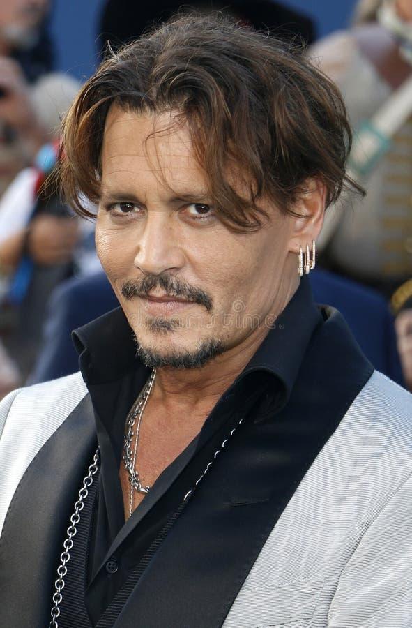Johnny Depp fotos de stock royalty free