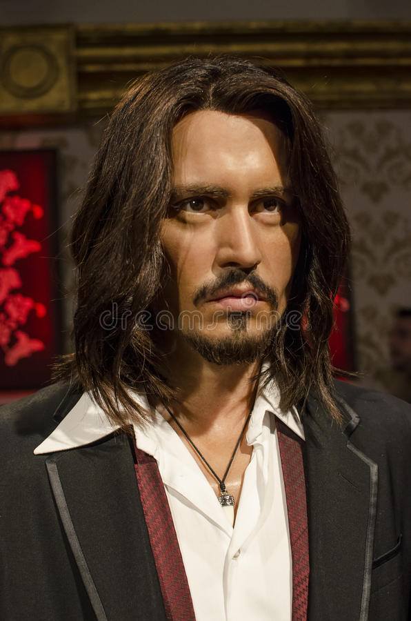 Johnny depp stock foto