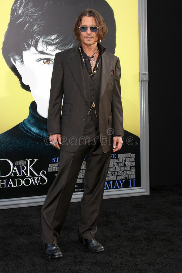 Download Johnny Depp,The Darkness editorial stock image. Image of dark - 25284109