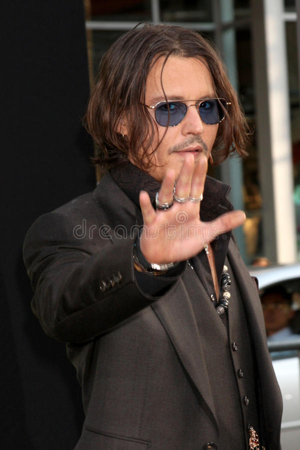 Download Johnny Depp,The Darkness editorial stock image. Image of johnny - 25284114