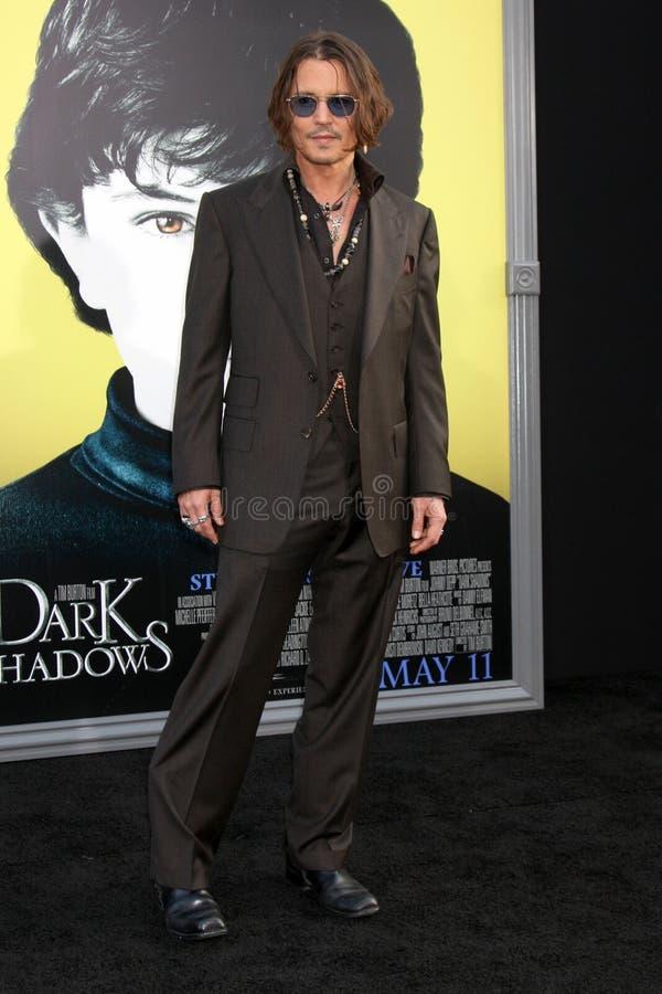 Johnny Depp, de Duisternis royalty-vrije stock afbeeldingen
